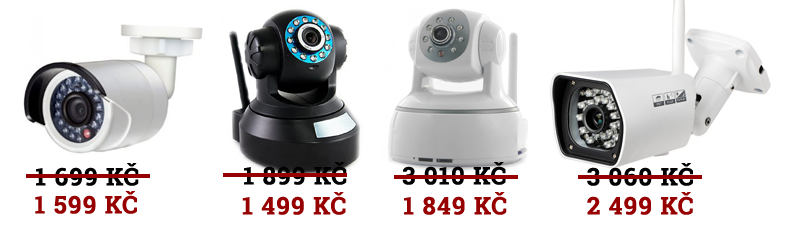 Výprodej IP kamer Zoneway