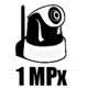 1 MPx Megapixelové