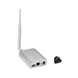 1 Mpx skrytá WiFi IP kamera Anbash NC128W, externí čočka, P2P