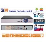 4CH DVR/XVR MHD-0401 5.0 MPx H.265+, IVA,  HDMI, P2P, AUDIO, ONVIF, CZ menu NOVINKA