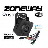 2MPx IP WIFI STARVIS skrytá H265 WDR dirková kamera, Audio I/O, Alarm I/O, SD, P2P, ONVIF, Dropbox, GOOGLE (ZONEWAY NC920)