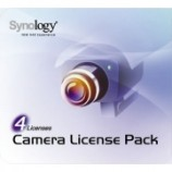 Synology NAS další licence pro IP kameru - 4x