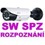 2MPx IP LPR Sunell SN-IPR57/20AKDN/T/Z POE  - čtení SPZ - NO/NC/COM, Audio, ALARM I/O relé, SD, H265, IR70m, ZOOM (7 - 22mm),