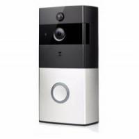 WIFI Bateriový videotelefon, videozvonek bezdrátový HD  Doorbell 720p, s monitorováním z mobilu, CZ aplikace  FT-P100SM01 + SD 8GB
